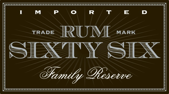 Rum_Sixty_Six_Label